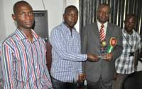 Akoko Youths Present Award b
