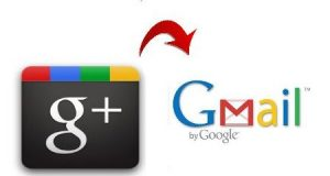 google plus to gmail account