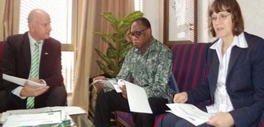 Photos News: German Ambassador's Visit to HMITI on Tuesday January 14, 2014