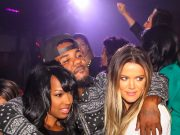 Khloe Kardashian parties with The Game