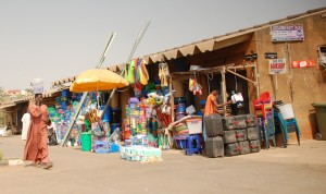 PIC. 13. BUSINESS AT GARKI MARKET IN ABUJA PICKS ON TUESDAY   (10/1/12).