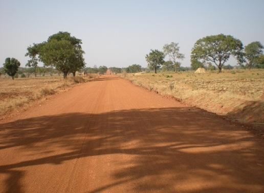 Completed earthroad in Kerawa-Gedage @ Giwa L.G.A Kaduna State