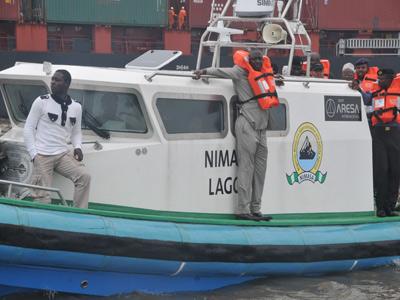 NIMASA boat