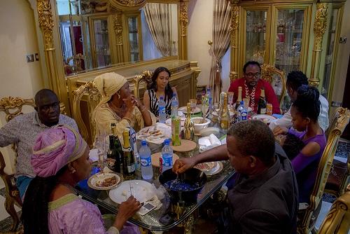 Winner Dines with E-Money