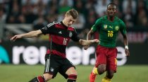 Cameroon fight back to draw Germany