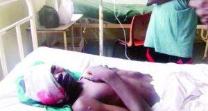 Ahmadu Bala on his hospital bed Kaduna