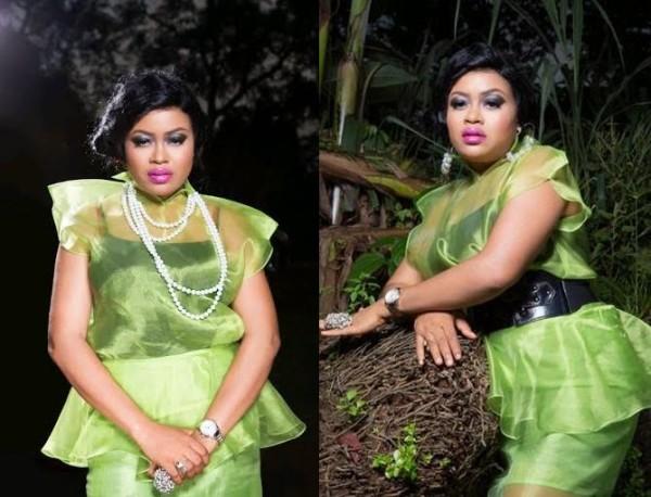 Nkiru Sylvanus Shines and Dazzles In New Promo Photos - The