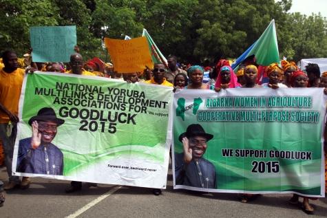 Rallies for Goodluck Jonathan in 2015
