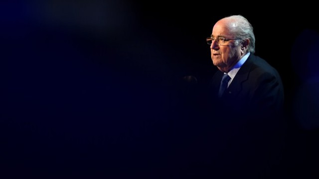 FIFA President Blatter concludes visit to Russia