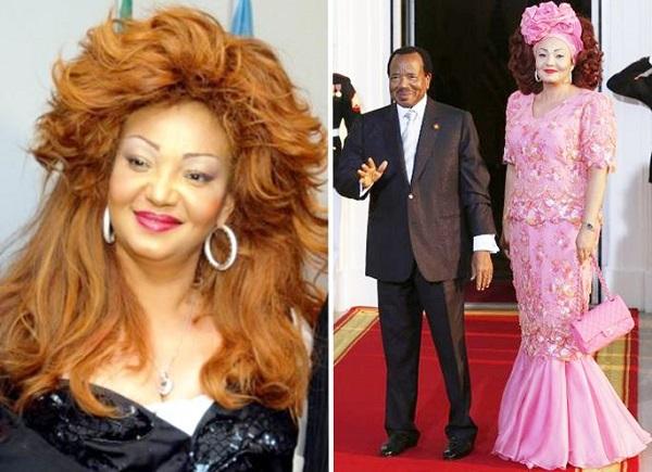 3) CHANTAL BIYA (CAMEROON)