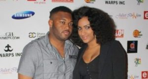 juliet ibrahim with ex husband Kwadwo Safo