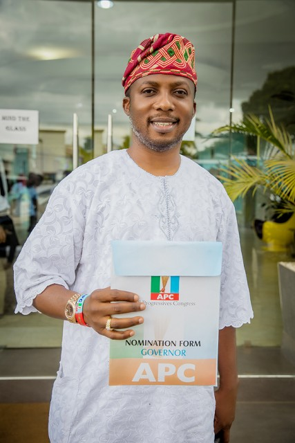 Tokunbo Wahab (TKW) Joins Contenders For The APC Governorship Ticket In Lagos State