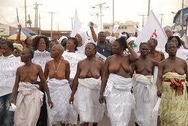file photo of women protesting in ekiti satte
