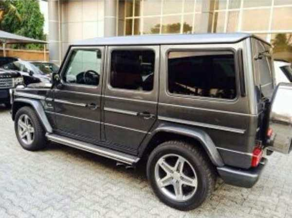 Yemi Alade Acquires New Mercedes G-Wagon