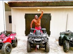 paul okoye flaunts ripped abs during