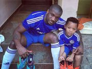 peter okoye and son