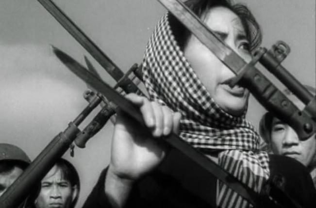 Screenshot of Thuỵ Vân from Nổi gió