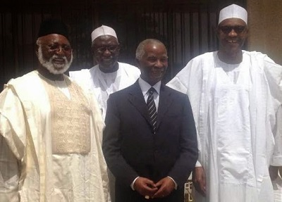 Abdulsalami, Mbeki, Buhari