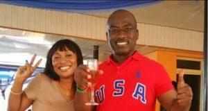 Dayo Adeneye with his wife