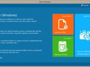 Remo Recover Windows Media Edition dashboard