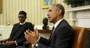 Buhari meets Obama
