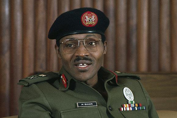 ca. 1983-1985, Nigeria --- General Muhammadu Buhari of Nigeria --- Image by © William Campbell/Sygma/Corbis