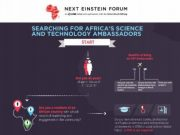 Next Einstein Forum Launches Search  Africa Young Science And Technology Ambassadors