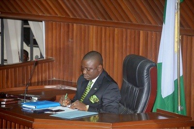 Speaker of Akwa Ibom State House of Assembly Aniekan Uko
