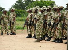 Nigerian Army Counter Terrorism Team