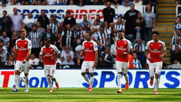 Alex Oxlade Chamberlain and Co