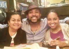 Banky W mum and sister