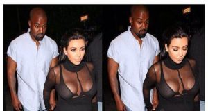 Check Out This Hilarious Photo Of Kanye And Kim