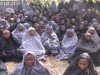 Chibok girls released by Boko Haram last year in Hijabs