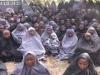 Chibok girls released by Boko Haram last year in Hijabs