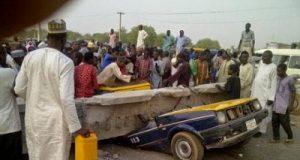 Kano collapsed pedestrian bridge