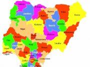 Map of Nigerian States