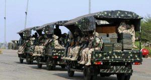 Nigeria Army in Baga