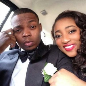 Nigerian rapper Olamide and his baby mama and girlfriend Adebukunmi Suleiman