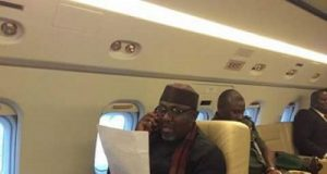 Rochas Okorocha Private Jet