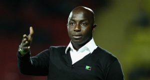 Samson Siasia Ghana v Nigeria International e