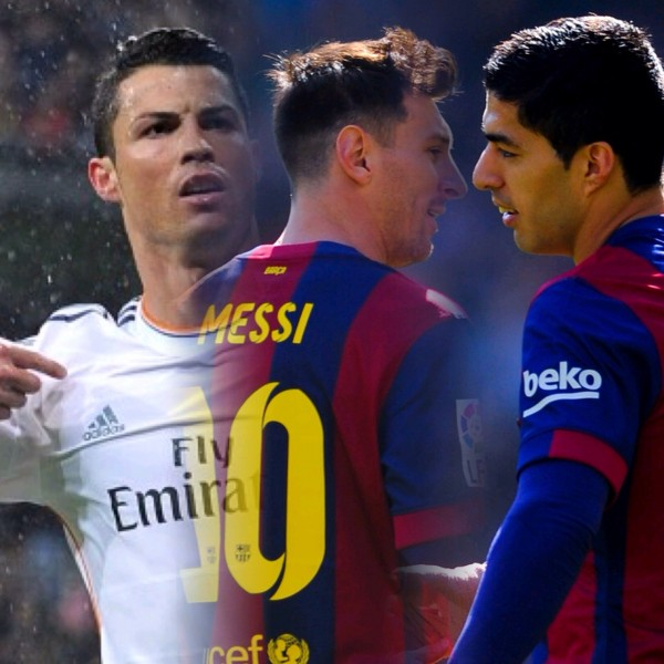 Lionel Messi, Cristiano Ronaldo and Luis Suarez Shortlisted for UEFA Best Player of 2014-15 Season Award.