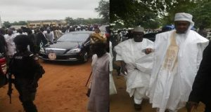 Protesters Stoned Senator Saraki, Emir, Ex-Minister In Ilorin During Eid Prayers