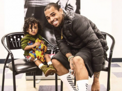 #Celebrity > Adorable Photo Of Chris Brown With His Daughter