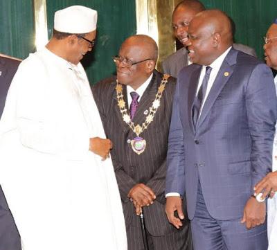Akinwunmi Ambode-President-Muhammadu Buhari