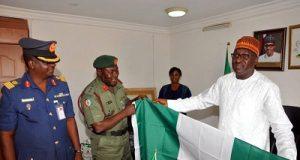DDI Colonel Rabe Abubakar DG NOA Mike Omeri