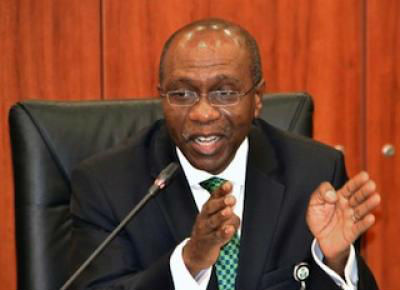 Governor of Central Bank of Nigeria CBN Mr Godwin Emefiele