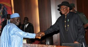 Ibrahim Shekarau Goodluck Jonathan