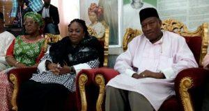 Jonathan visits Awolowos
