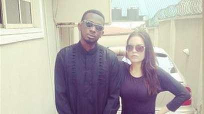 May D and his new girlfriend