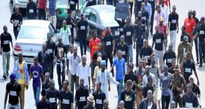 NANS PROTEST IN ABUJA